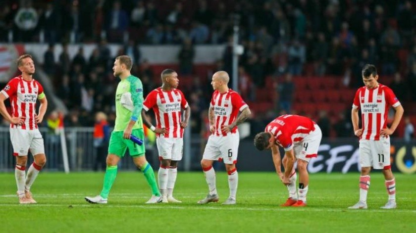 ''Chucky'' Lozano pone asistencia pero Inter remonta a PSV en Champions