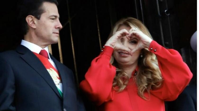 Angélica Rivera ya no vivía en Los Pinos desde hace aproximadamente dos años, revelan