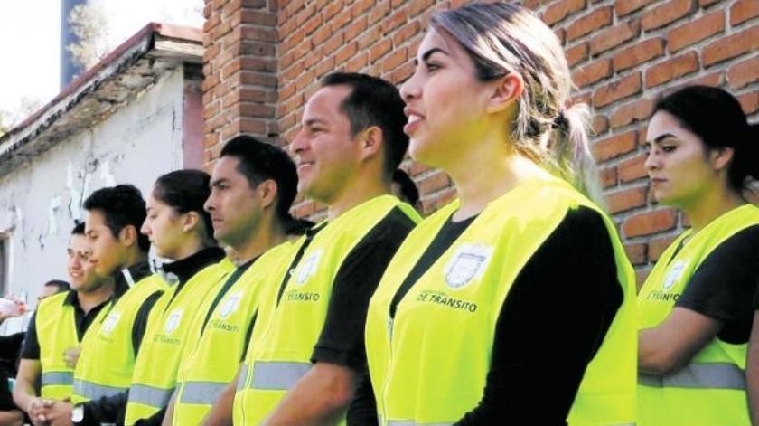 Próximos a graduarse 19 nuevos inspectores de tránsito en Tijuana