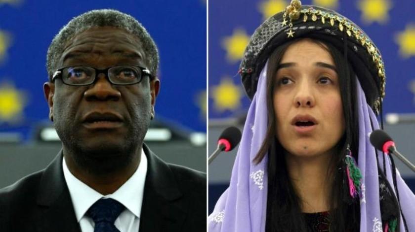 Premio Nobel de la Paz: Doctor Denis Mukwege y Nadia Murad por su lucha contra la violencia sexual
