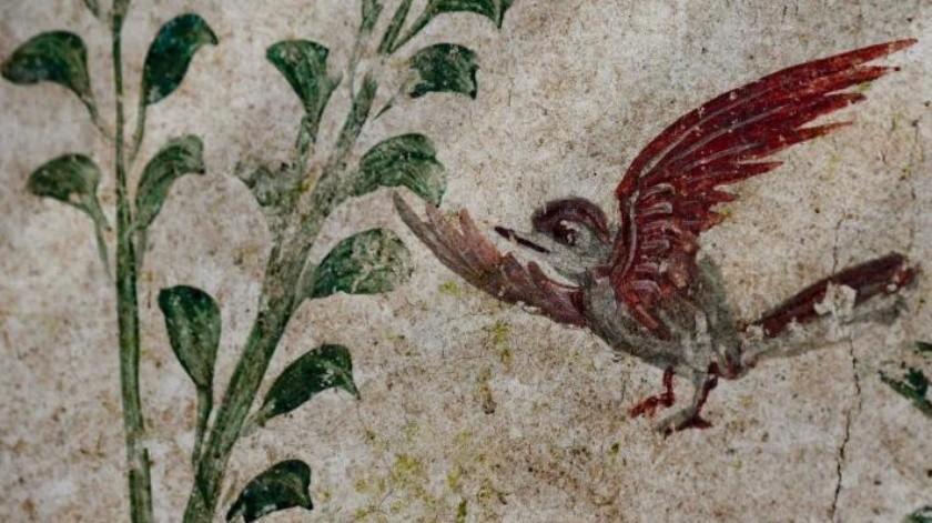 Pintura de jardín develan excavaciones en Pompeya