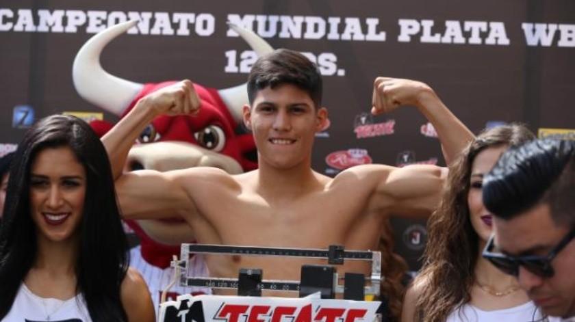 'Pollo' Aguilar sube al ring hoy en Tijuana