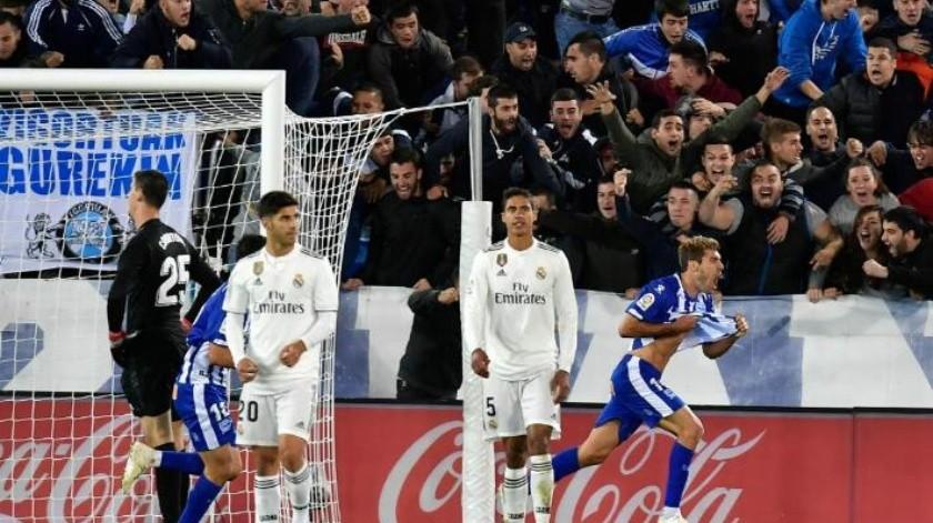 Añaden 5 minutos y Real Madrid pierde en el agregado vs Alavés