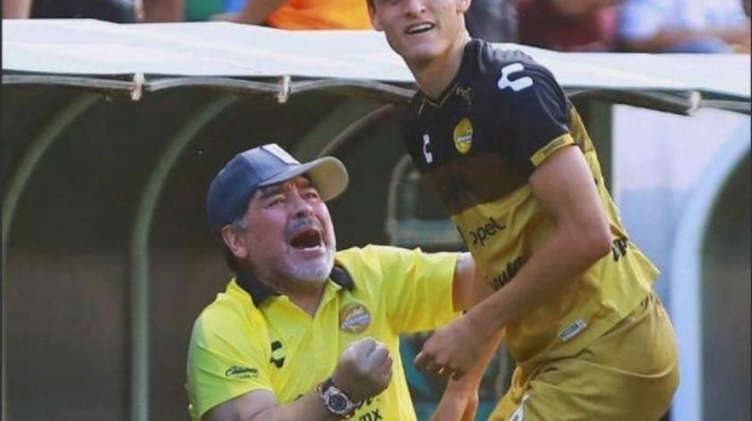 Apunta Maradona a la ''Fiesta Grande'' con Sinaloa