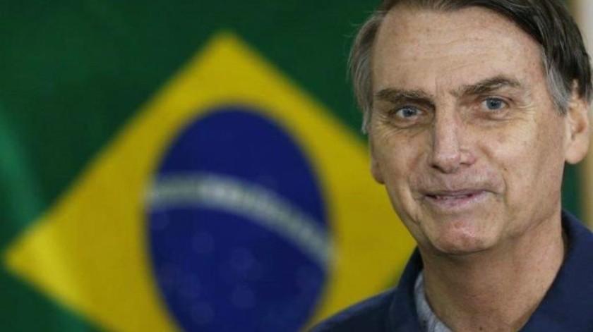 El ultraderechista Jair Bolsonaro encabeza las tendencias en Brasil; habrá segunda vuelta