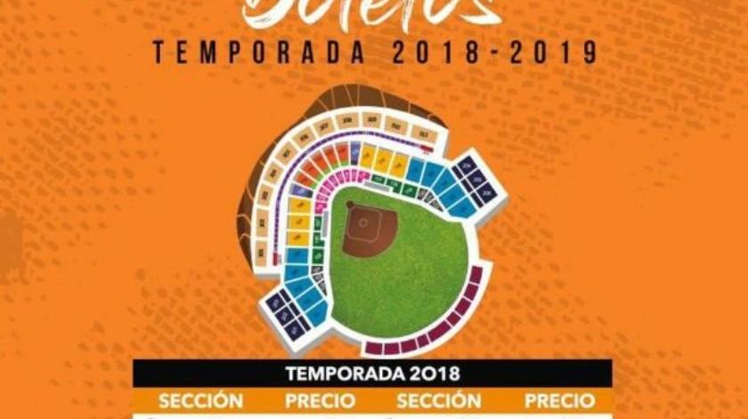 Este jueves a las 10:00 inicia la venta de boletos para el juego inaugural de Naranjeros
