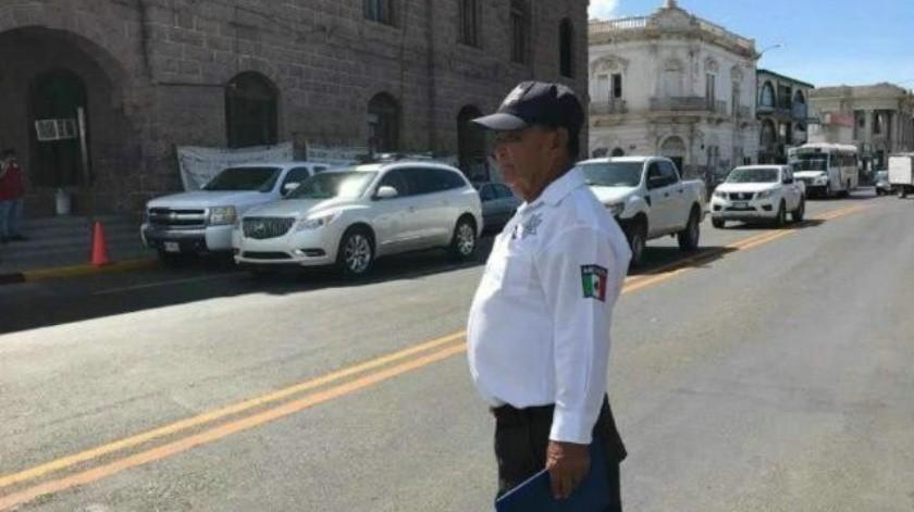 """""""Recibí tres patrullas, y esas andan un día sí y otro no"""", Policía Municipal de Guaymas"""