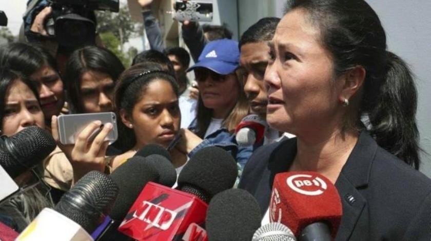 Apresan a Keiko Fujimori por supuesto lavado de dinero
