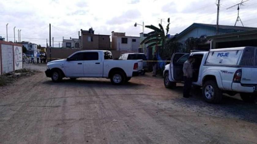 Encuentran un ejecutado sobre el bulevar Zertuche en Ensenada