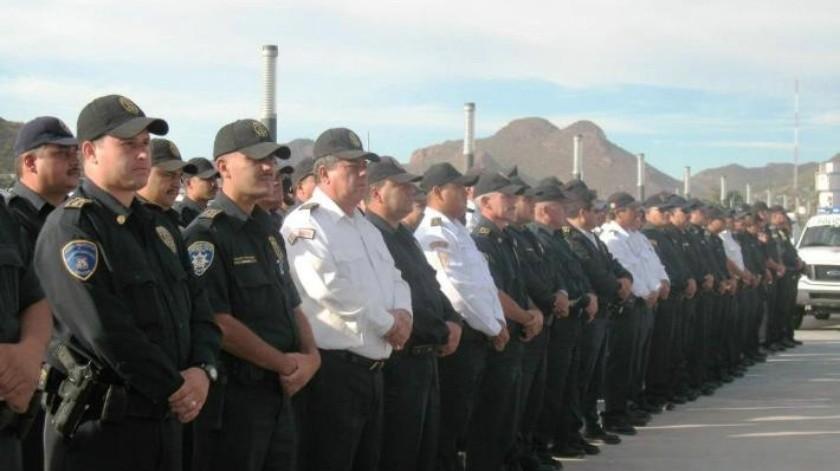 Se revisa situación de seguros de policías de Guaymas: Ayuntamiento