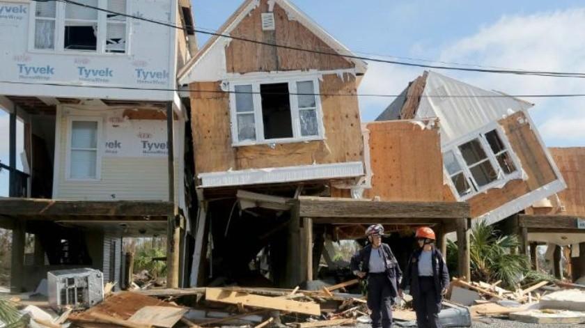 """FOTOS: Florida sufrió una """"destrucción inimaginable"""" tras paso de huracán """"Michael"""""""