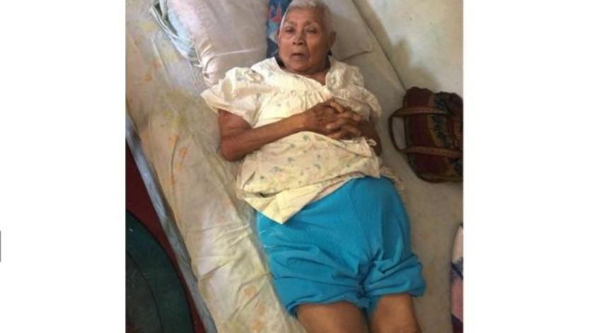 Buscan a familiares de la señora Lucía Gómez Cariño de 80 años de edad