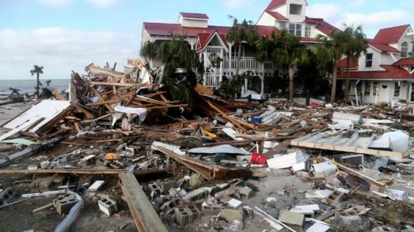 """Estiman daños por """"Michael"""" en 8 mil millones de dólares en Florida"""