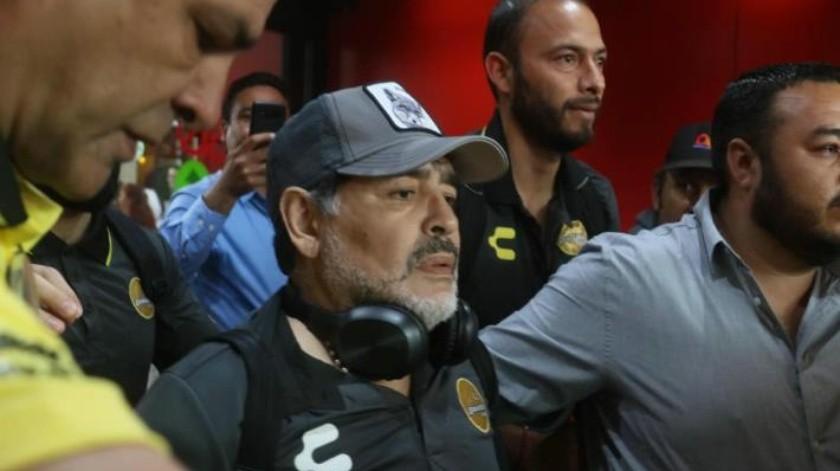 Alista Maradona juego Vs Xolos hoy en Tijuana