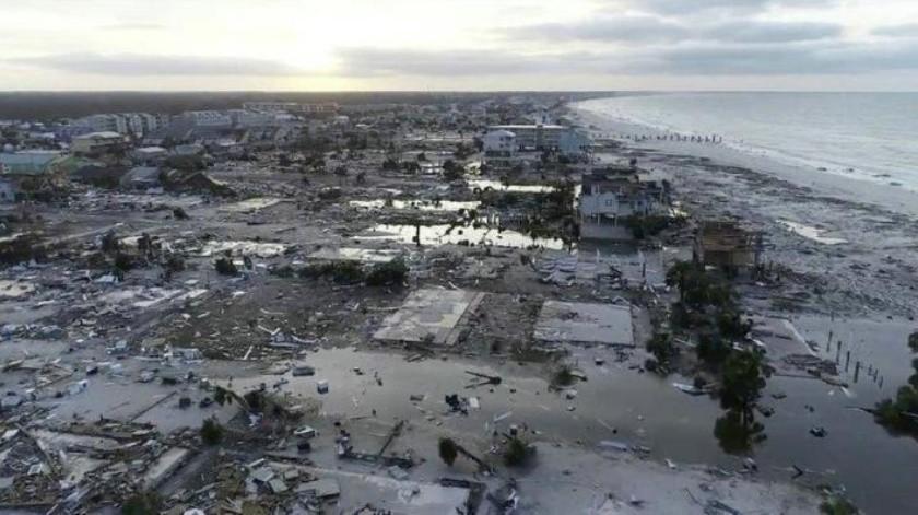 "Suman once personas muertas por paso del poderoso  huracán ""Michael"""