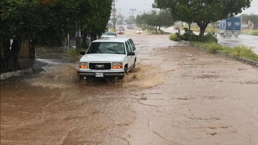 "Estas vialidades son las más afectadas por ""Sergio"" en Hermosillo"