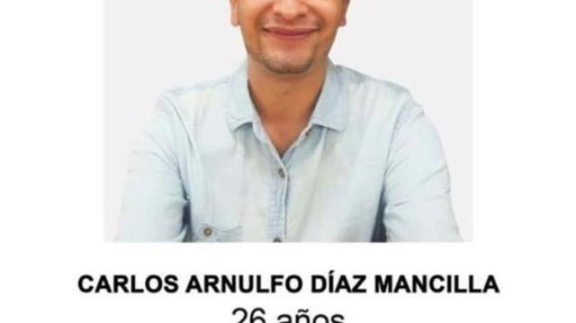 Buscan a joven desaparecido desde el 28 de agosto
