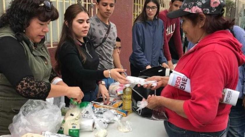 Jóvenes realizan jornada de ayuda en la Zona Norte