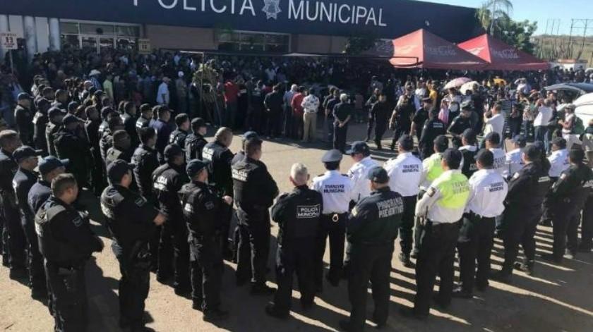 Pide Guaymas al Congreso apoyo para sus policías