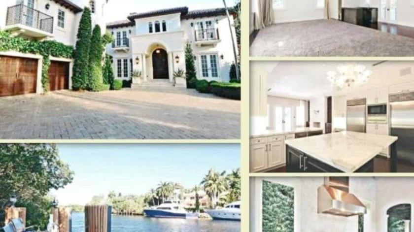 """""""Merezco abundancia"""": La mansión de 7 mdd que adquirió Karime Macías en Miami"""