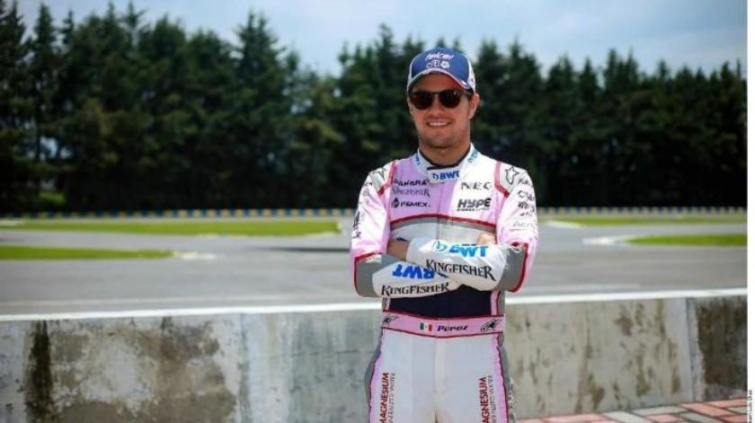 Sergio Pérez renueva contrato por un año más con Force India
