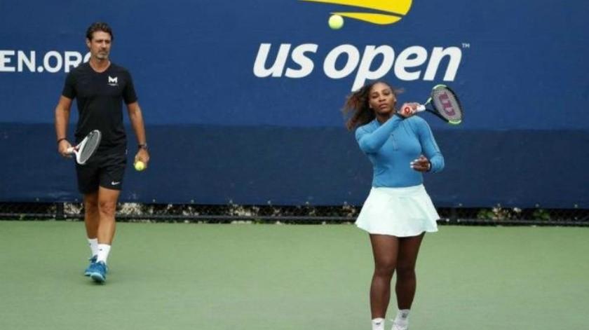 """""""Apoyo de entrenador durante partido mejoraría el tenis"""": Entrenador de Serena Williams"""