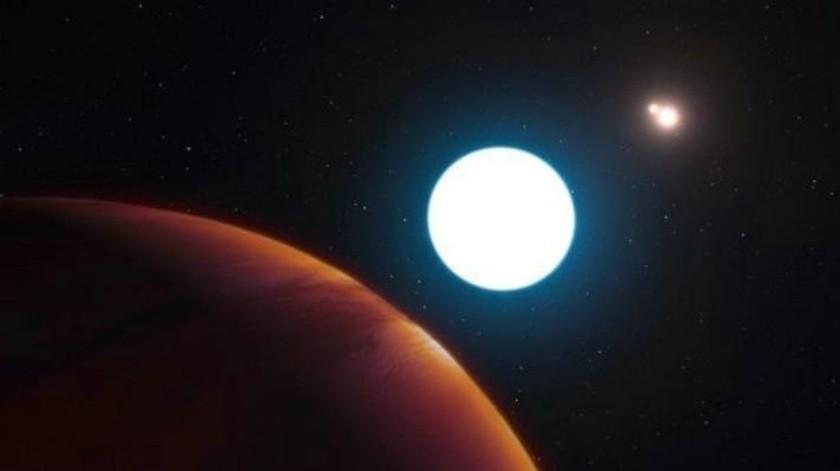 Encuentran sistema solar con cuatro planetas
