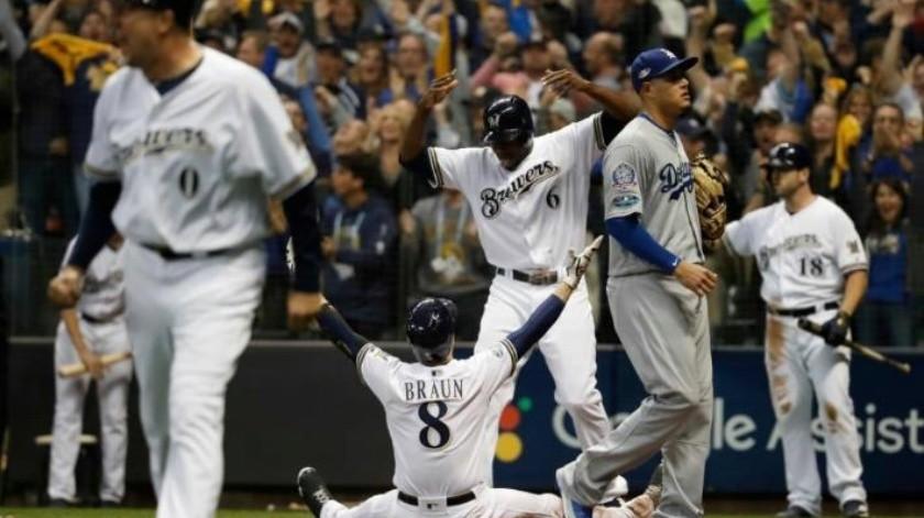 ¡Increíble!, se prolonga Serie de Campeonato entre Dodgers y Cerveceros