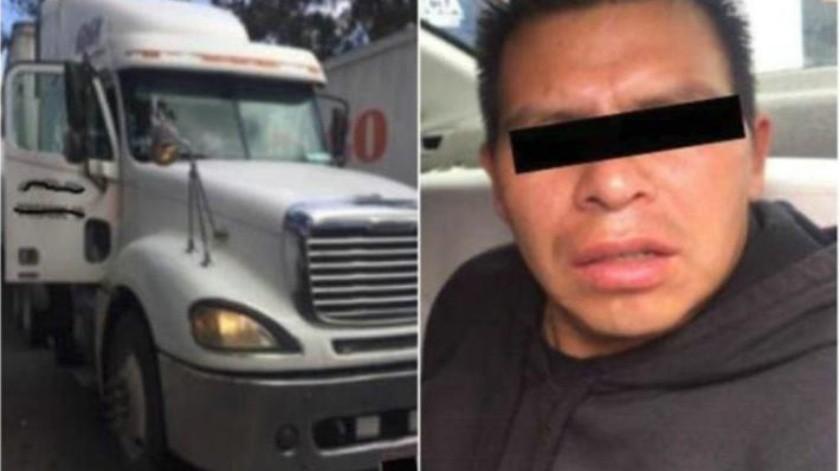 Roba hombre camión de cerveza con valor de 300 mil pesos en CDMX