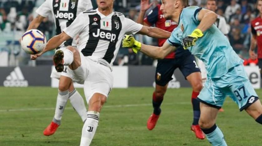 Impone Ronaldo récord en Europa y Genoa corta racha perfecta de Juventus