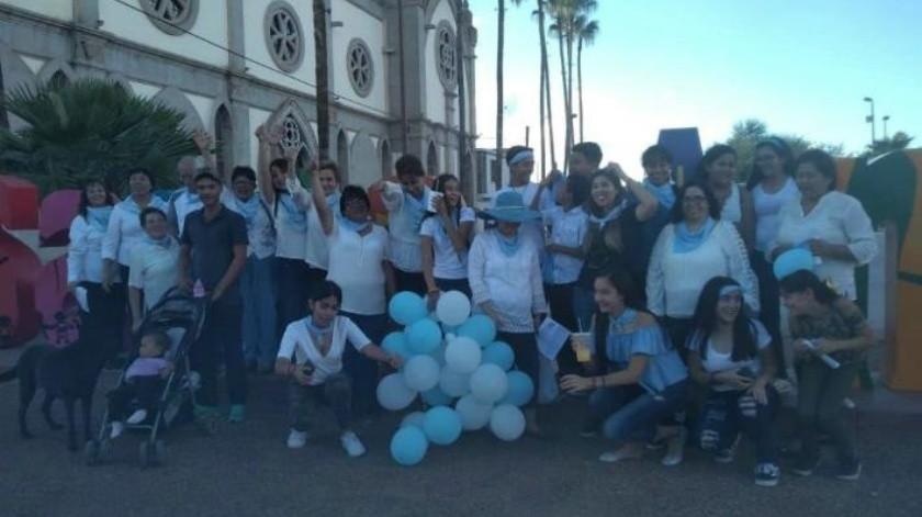 Marcha Por la Vida en Nogales y Santa Ana