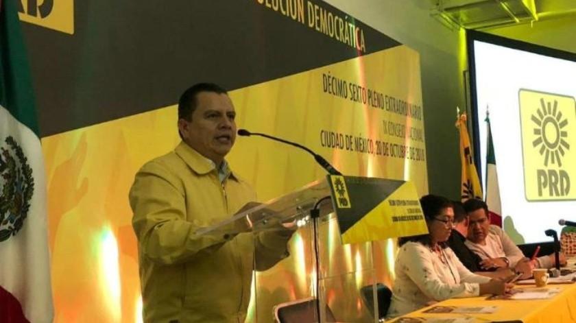 Culpa Manuel Granados a AMLO de la crisis económica en PRD