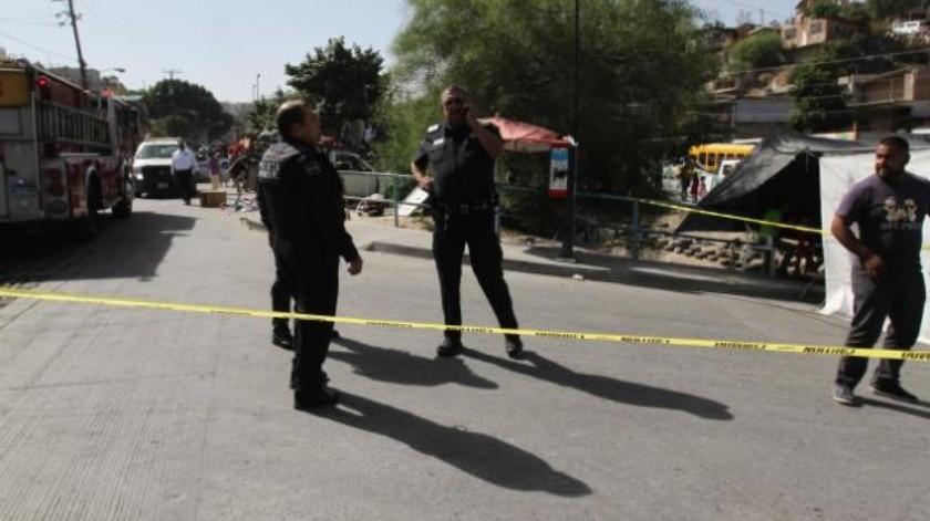 Hombre asesinado en sobrerruedas de Tijuana
