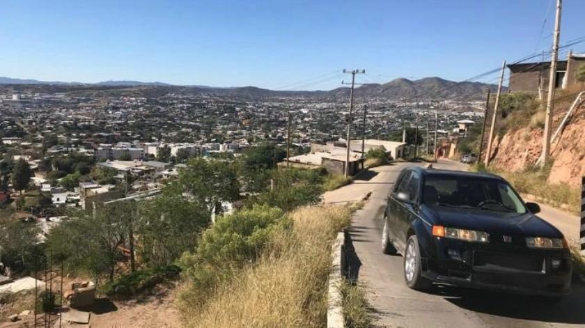 Calles de Nogales son de alto riesgo