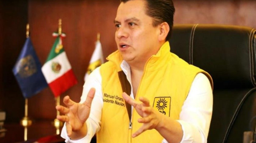Manuel Granados deja la dirigencia del PRD