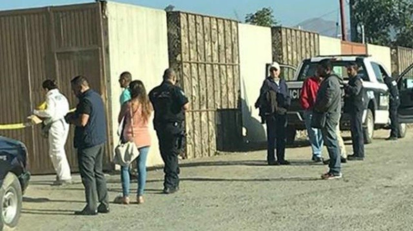 Matan a hombre en vía pública de Tijuana