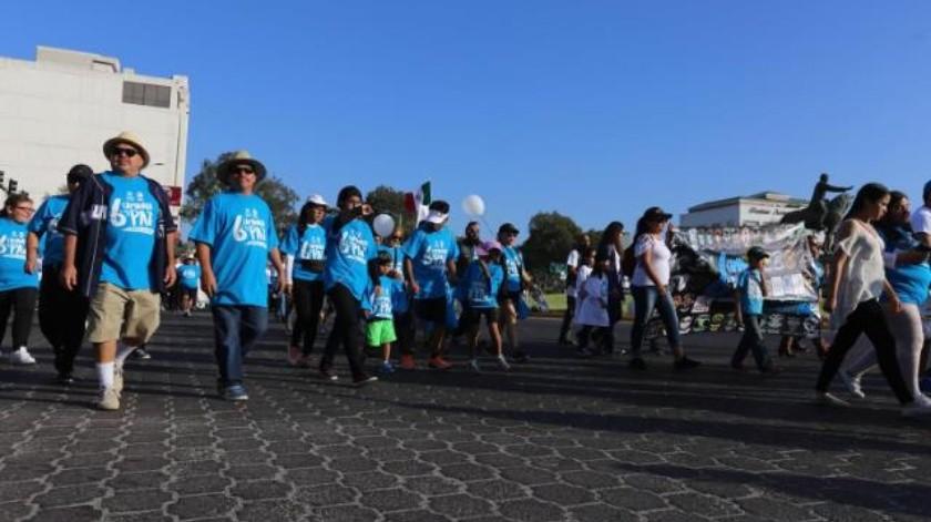 Miles exigen mayor seguridad en Sexta Caminata por la Paz