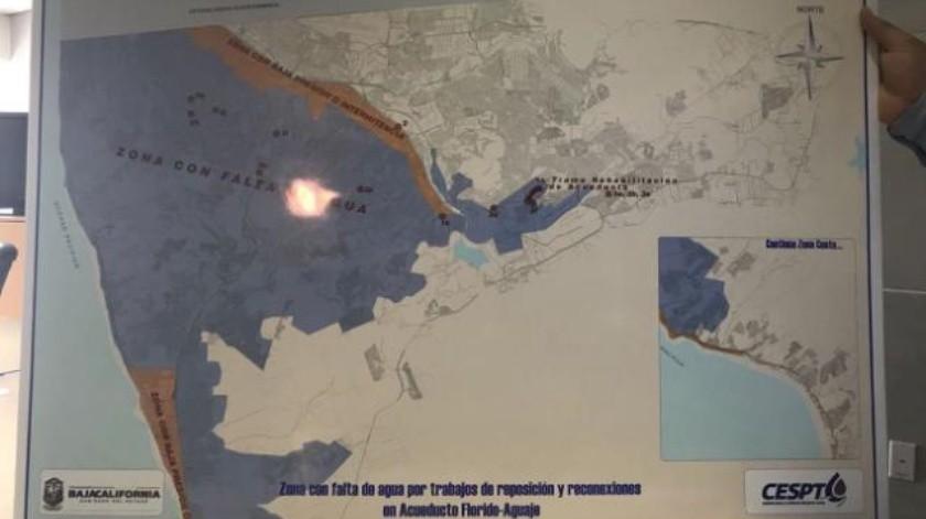 Video: 400 colonias se quedarán sin agua en Tijuana y Rosarito