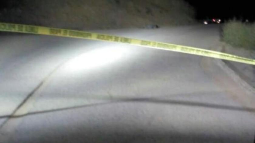 Abandonan a mujer muerta a tiros en San Quintín