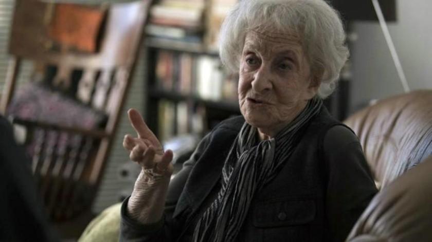 Ida Vitale, la poeta consagrada de 95 años en plena actividad
