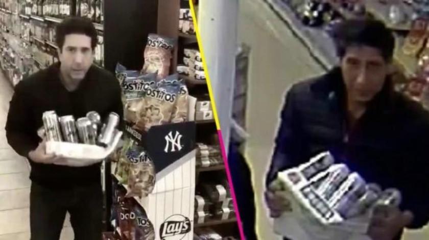 Atrapan a un ladrón igualito a Ross Geller, David Schwimmer bromea