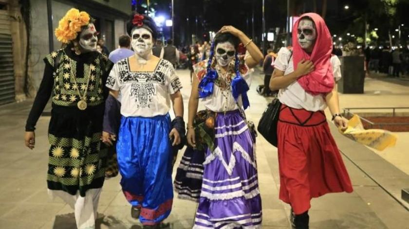 Todo listo para el desfile de Día de Muertos en CDMX
