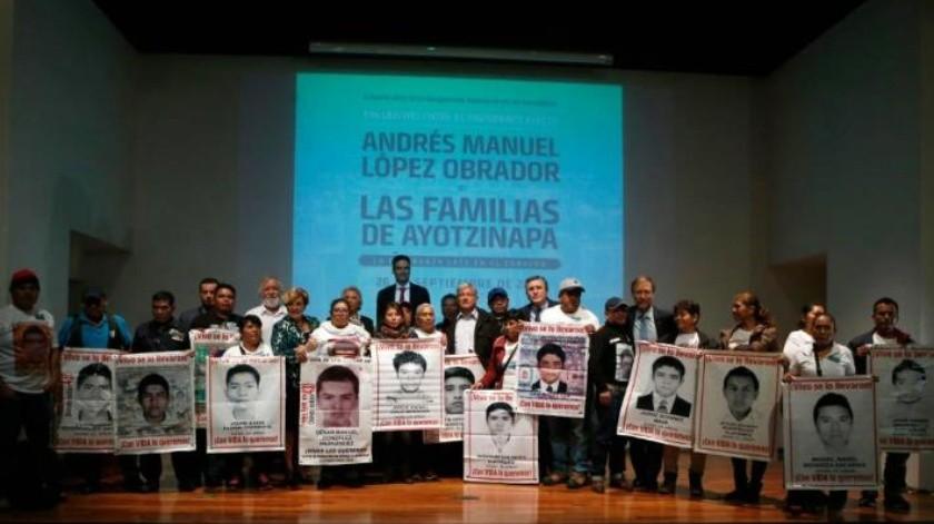 Los tres acuerdos de AMLO en el caso Ayotzinapa