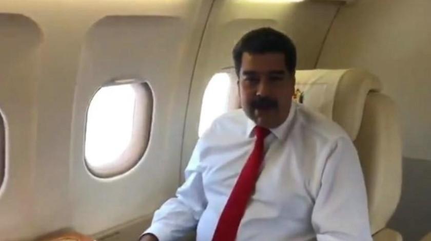 """VIDEO: """"Vengo a defender la verdad de Venezuela"""": Maduro llega a NY para Asamblea de la ONU"""