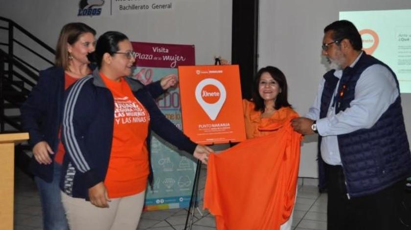 Crea Immujer puntos naranjas para mujeres afectadas por acoso o agresiones comunitarias