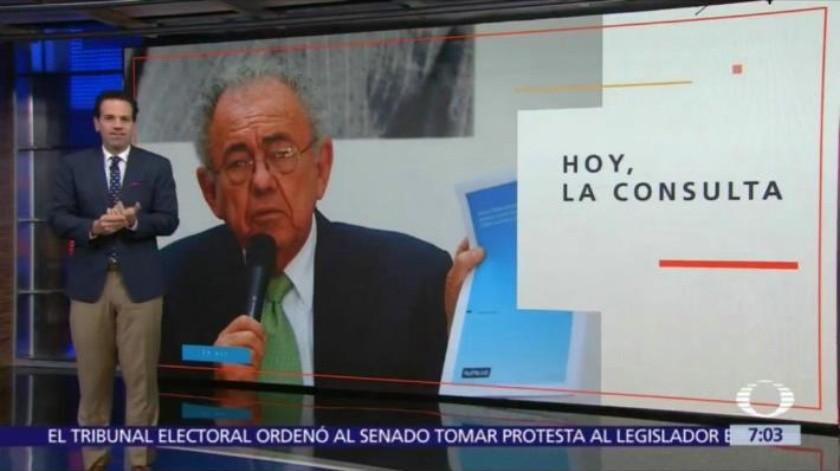 AMLO califica de irresponsable la manera de informar de Carlos Loret de Mola sobre consulta de aeropuerto