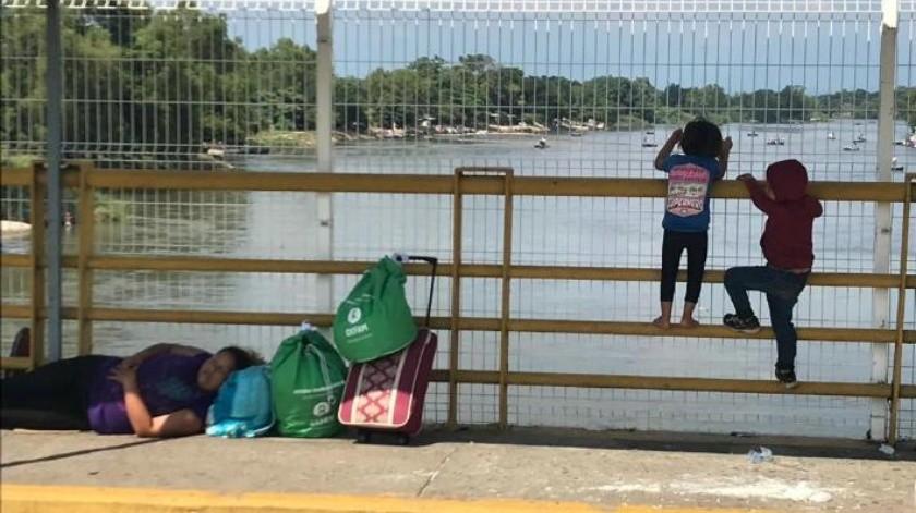 Cierran frontera entre México y Guatemala en vísperas de llegada de segunda caravana