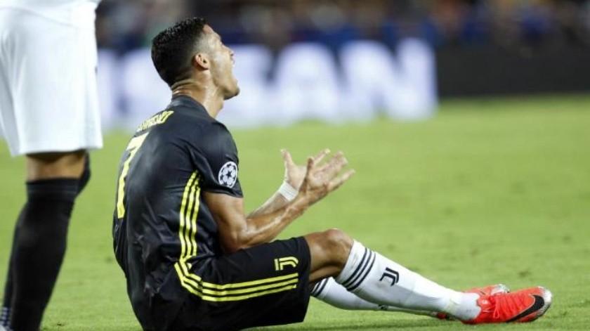 UEFA castiga a Cristiano Ronaldo tras ser expulsado en la Champions
