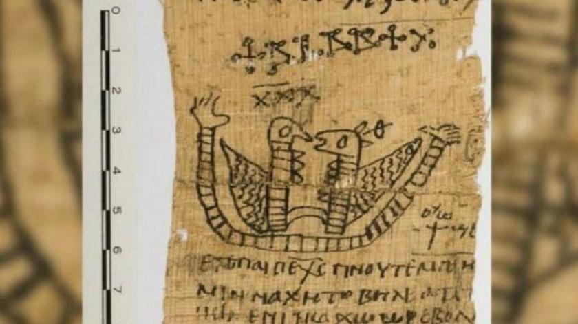 Descubren mensaje de un hechizo de amor en antiguo papiro
