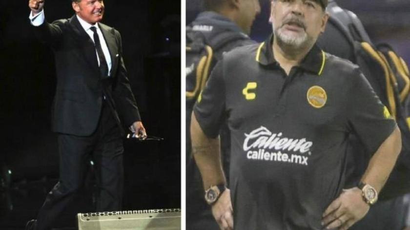 ¿Será qué no lo ama?, Maradona despreció a ''Luismi'' y lo hizo gastar millones
